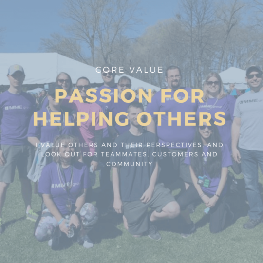 Passion for Helping Others
