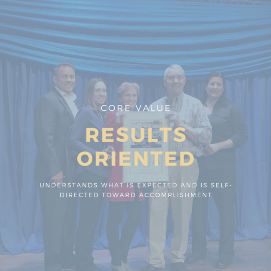 Results Oriented